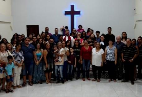 Despedida do P. Hannes Kühn e família da Comunidade em São Luís/MA