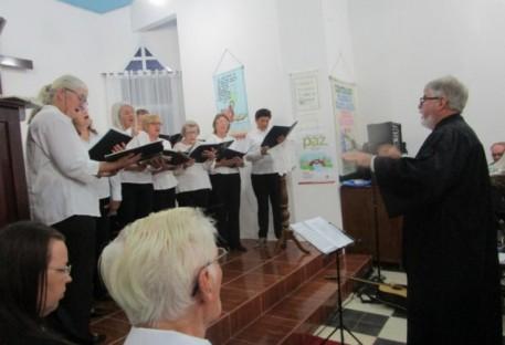 Culto de Desinstalação e bênção do P. Jorge A. Signorini