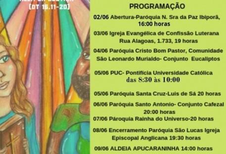 Semana de Oração pela Unidade Cristã (SOUC) - 2019 - Londrina/PR