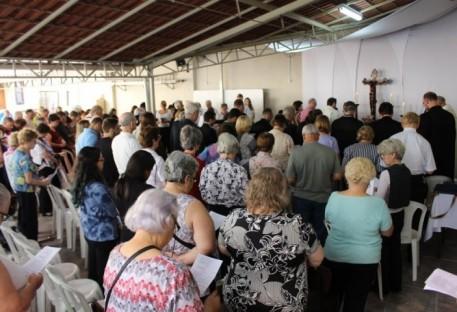 Celebração marca a memória de um ano da tragédia no centro de São Paulo