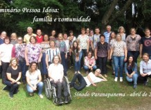 Seminário sobre a Pessoa Idosa mobiliza lideranças do Sínodo Paranapanema