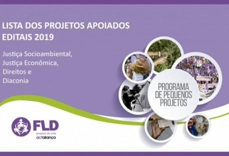 Fundação Luterana de Dia conia (FLD) divulga projetos apoiados nos Editais 2019