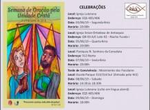 Semana de Oração pela Unidade Cristã (SOUC) - 2019 - Brasília/DF