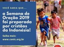 Semana de Oração pela Unidade Cristã (SOUC) - 2 a 9 de junho de 2019