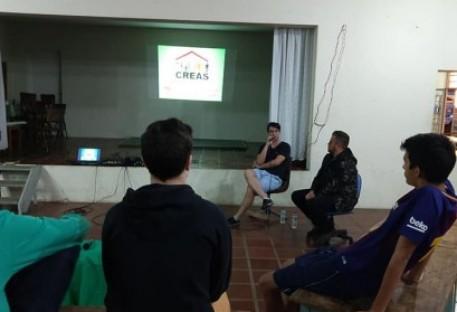 Programa de Entrevista PAPOS DA HORA é lançado no grupo de Jovens Adolescentes da Paróquia de Cosmópolis
