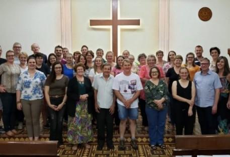 Cerimônia de Encerramento do Curso Espiritualidade e Edificação de Comunidades na Paróquia Limeira - SP