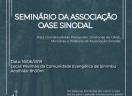 Sínodo Centro-Campanha Sul convida para o Seminário da Associação OASE Sinodal