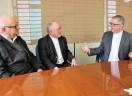 Guilherme Lieven e Rafael Biernaski tem diálogo em Blumenau