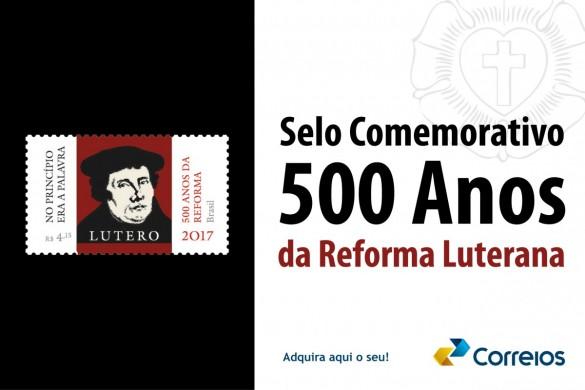 Selo comemorativo do Jubileu da Reforma