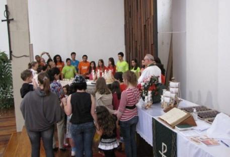 Celebração de rememorização do Batismo