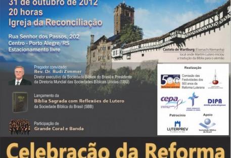 Culto da Reforma reúne IECLB e IELB