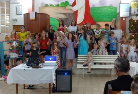 "Programa de Natal ""Winas-Schaul"" na Comunidade de Belém"
