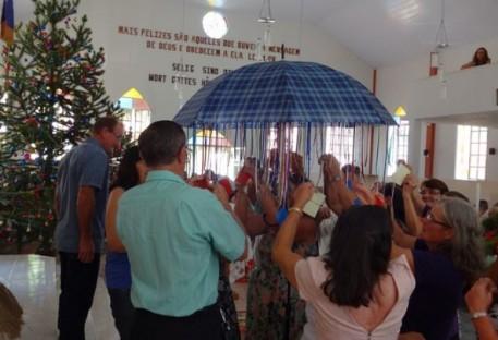 Culto de Confraternização da Terceira Idade na Comunidade de Belém