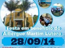 Festa do Albergue Martim Lutero