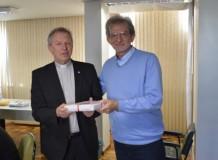 Delegação do Conselho Superior da Igreja Evangélica da Alemanha em visita à IECLB