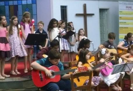 Recital de música Comunidade de Cascavel-PR