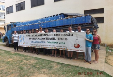 IECLB: Doação de Água chega a Colatina