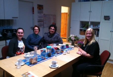 Jovens voluntários/as brasileiros/as no Norte da Alemanha