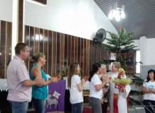 Ministros e ministra despedem-se de campos de atividade no Vale do Itajaí (SC)