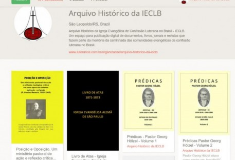 A história da IECLB em formato digital