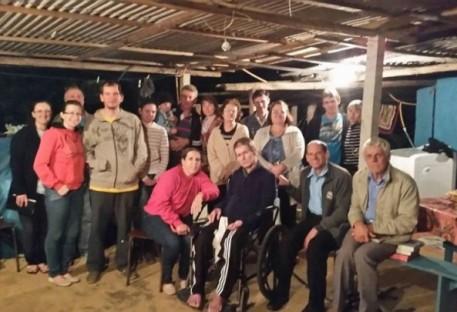 Corrente de Oração na Comunidade de Belém - Paróquia Aliança