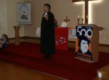Paróquia de Ernestina também comemorou o dia da Reforma