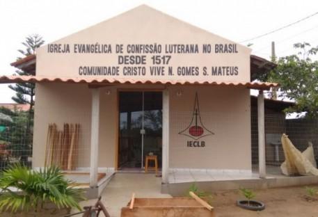 Inauguração do templo em Nestor Gomes/São Mateus/ES