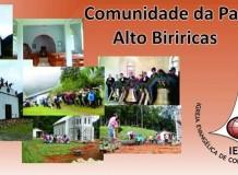 Um sonho realizado - inauguração em Alto Biriricas - Domingos Martins/ES