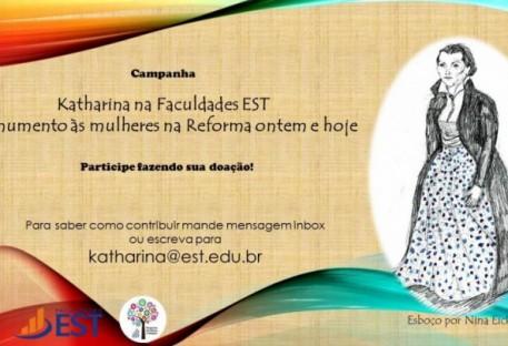 Katharina na Faculdades EST - Monumento às mulheres na Reforma ontem e hoje