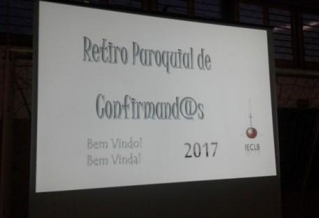 3º Retiro Paroquial de Confirmandos e Confirmandas