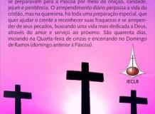 Folhetos Evangelísticos sobre Quaresma e Páscoa
