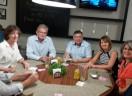 Visita da Dra. Katrin Fiedler da Igreja Evangélica Luterana do Norte da Alemanha