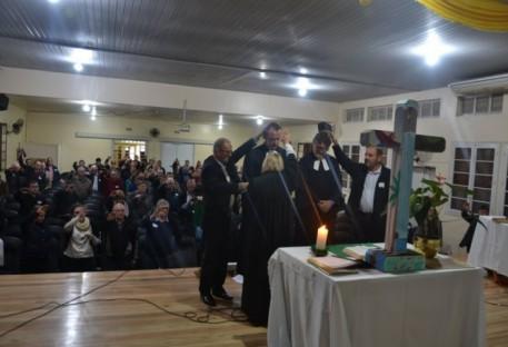 Investidura dos Pastores Sinodal e Vice-Sinodal do Sínodo Vale do Taquari