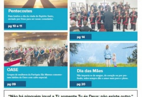 Joinville Luterano. Ano XIX -  Número 112 - Maio e Junho 2019