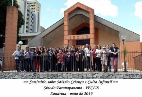 Seminário sobre Missão Criança e Culto Infantil
