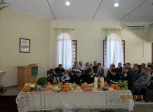 Culto de Ação de Graças na Comunidade da Linha 8 - Coronel Barros/RS