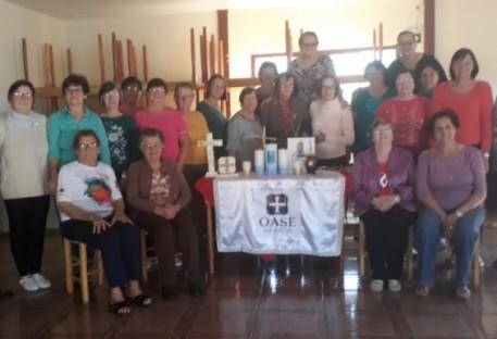Celebração do Jubileu de Ouro da OASE de Entre Rios do Oeste/PR