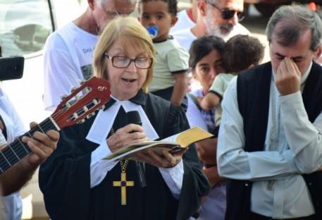 Pastora Presidente visita familiares das vítimas em Brumadinho/MG