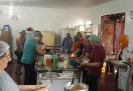 Culto de Ação de Graças na Comunidade da Esquina Primavera - Entre-Ijuís/RS