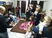 Encontro de Famílias em Entre Ijuís