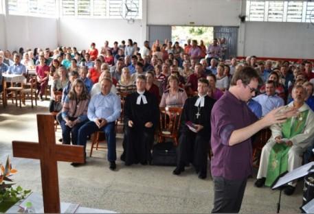 Celebração reuniu Comunidade Evangélica em Boqueirão do Leão/RS