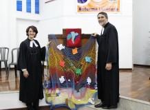 Instalação do casal de ministros, Pastora Rosane Pletsch e Pastor Antônio Ottobelli da Luz, na Paróquia Evangélica de Confissão Luterana de Maringá