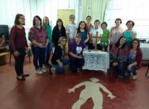 Visita das coordenadoras aos grupos de OASE