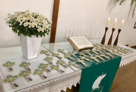 Culto de rememoração de 05 anos de Batismo