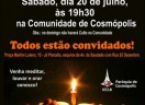 Cosmópolis se prepara para o 6º ano do CULTO DE TOMÉ