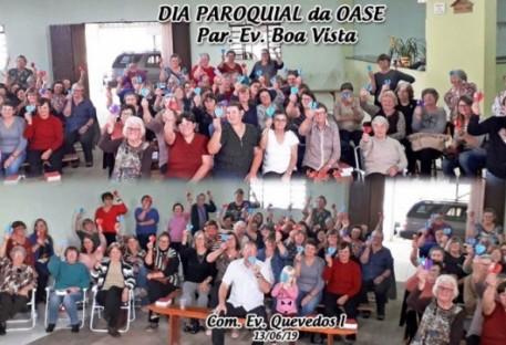 Dia Paroquial da OASE 2019 na Paróquia Evangélica de Boa Vista