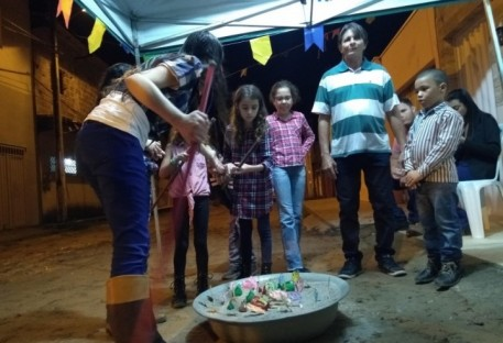 1º Arraial Comunitário na Comunidade de Teixeira de Freitas/BA