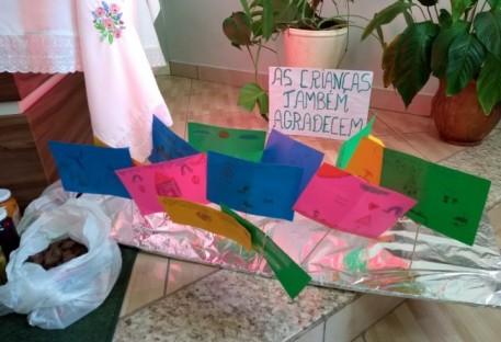 Culto de Ação de Graças Com. Bom Pastor - Coronel Barros/RS