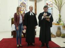 Instalação do Pastor Dirceu Strelow na Paróquia em Agrolândia/SC