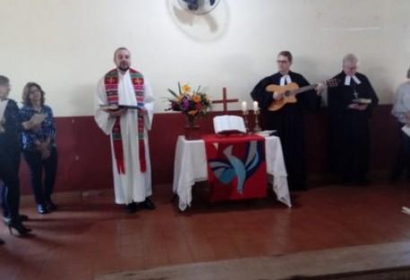 Dedicação do Templo Martin Luther em Cruzália/SP